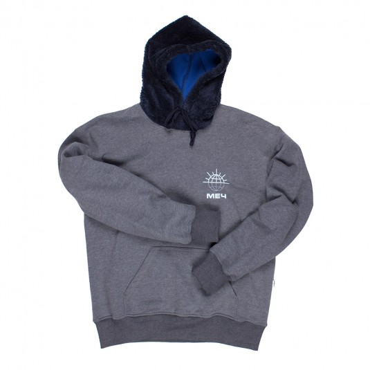 Худи МЕЧ FLEECE Logo синяя
