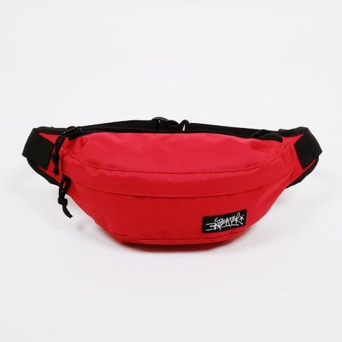 Поясная сумка Anteater красная