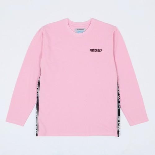 Лонгслив Anteater Shred розовый