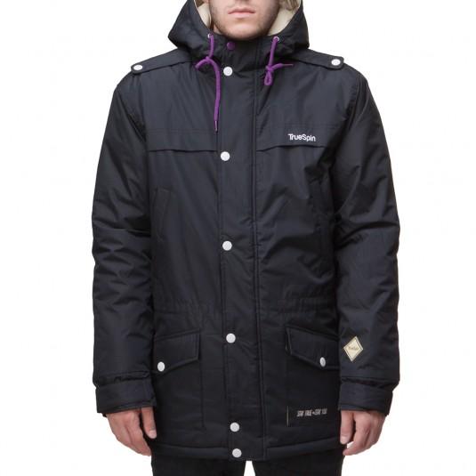 Куртка TRUESPIN Fishtail черная