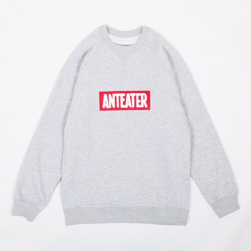 Свитшот Anteater Red patch серый