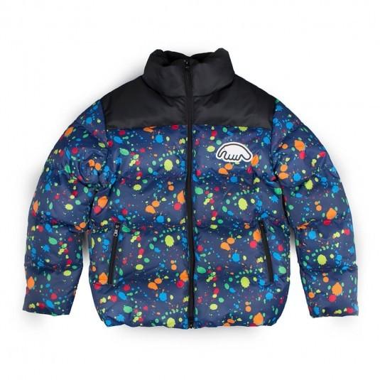 Пуховик Anteater Downjacket Splats синий