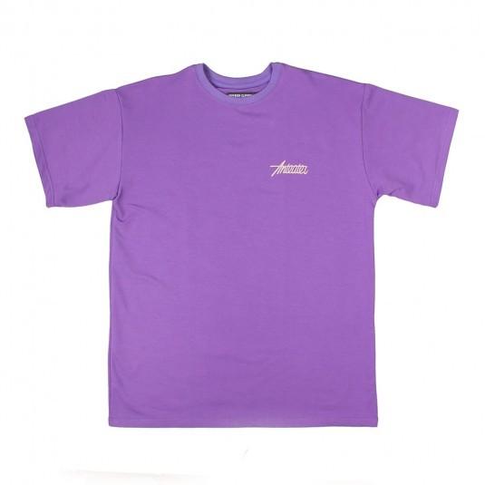 Футболка Anteater Phat фиолетовая