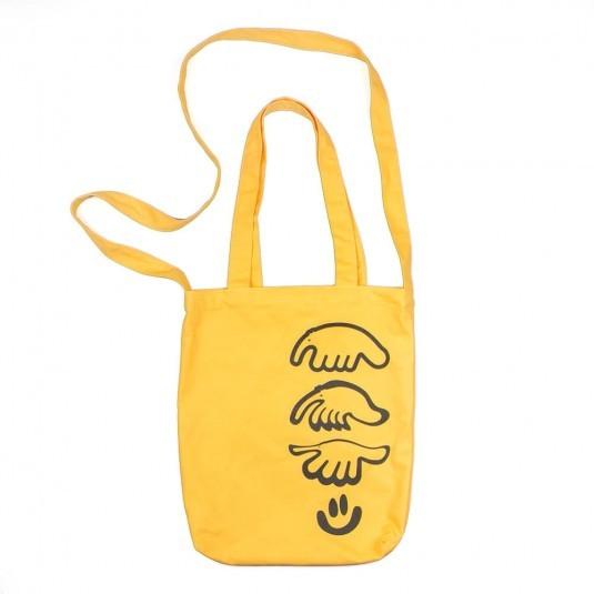 Cумка шоппер Anteater жёлтая