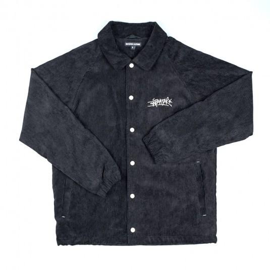 Куртка Anteater Coach Jacket вельветовая чёрная
