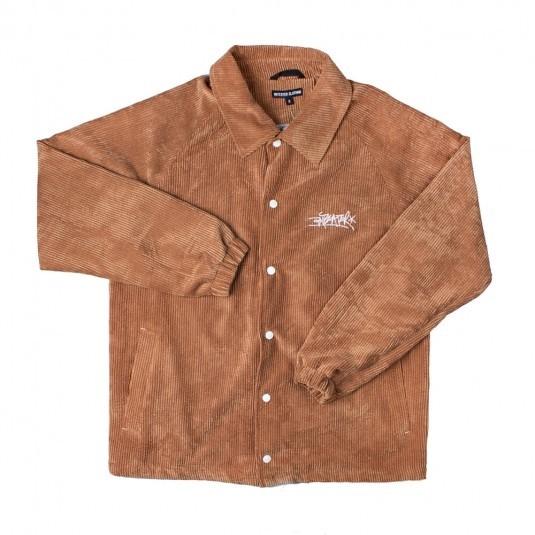 Куртка Anteater Coach Jacket вельветовая какао