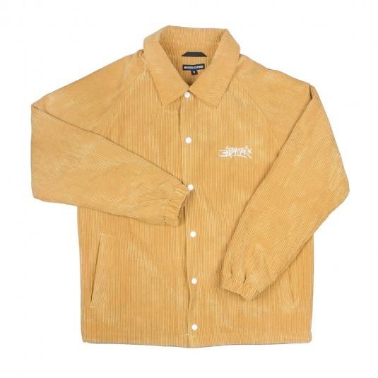 Куртка Anteater Coach Jacket вельветовая желтая