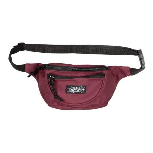 Поясная сумка Anteater WBag бордовая