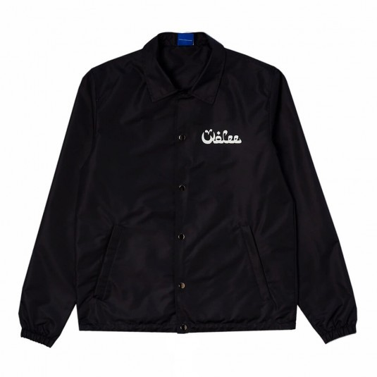 Куртка коуч WOLEE Arabic чёрная