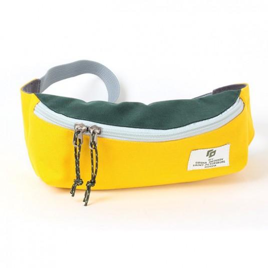 Поясная сумка Gosha Orekhov желтый / зеленый