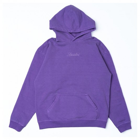 Худи Dissident Garment Dyed in lavender
