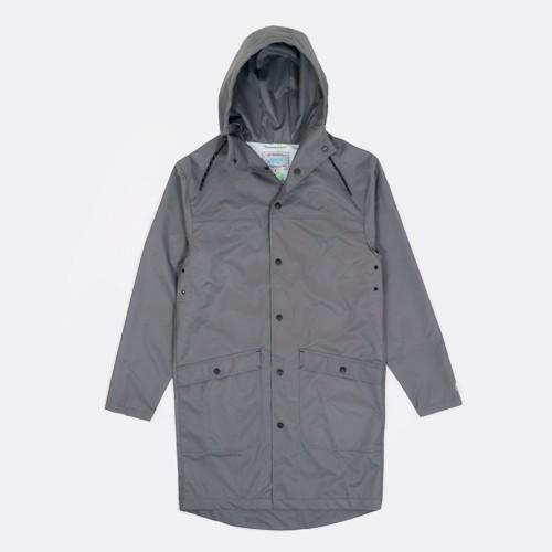 Ветровка дождевик Anteater серого цвета