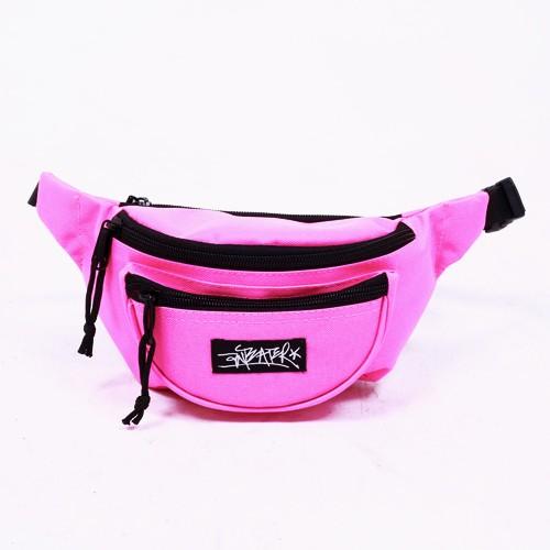 Поясная сумка Anteater WBag розовая