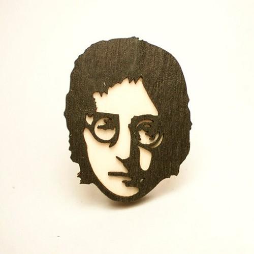 Значок WAF WAF Джон Леннон
