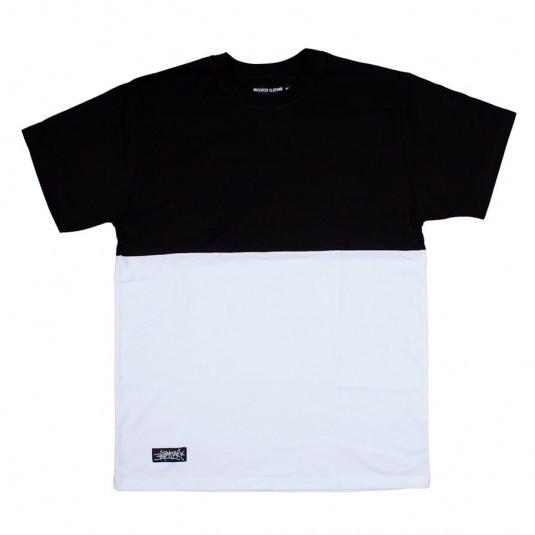 Футболка Anteater чёрная с белым