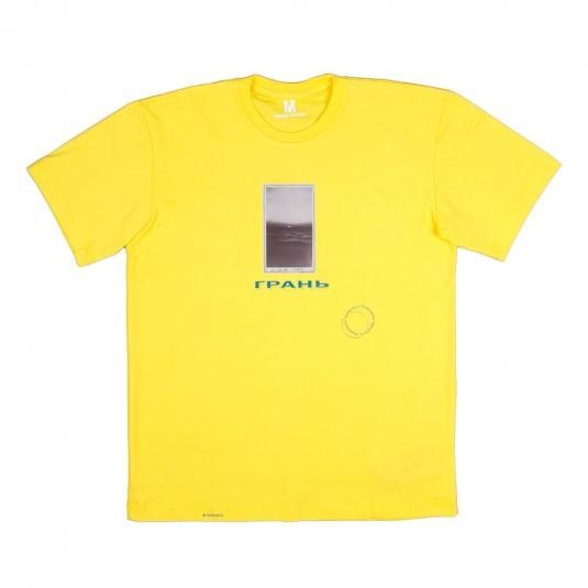 Футболка Колос Грань жёлтая