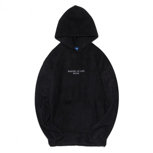 Худи Wolee Fleece Black