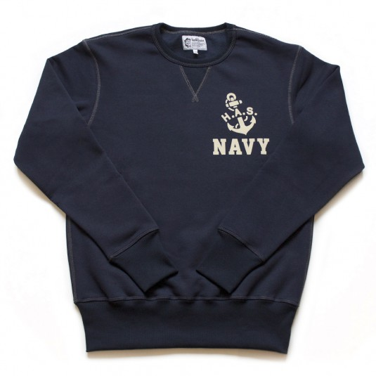 Свитшот. H.A.S. Navy. Hobo and Sailor