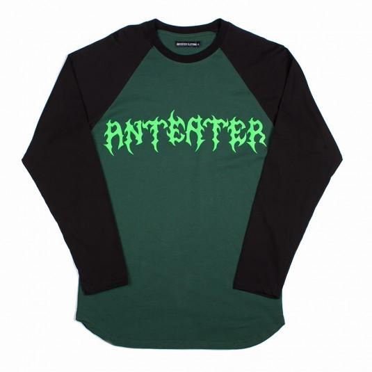 Лонгслив Anteater Shred зеленый