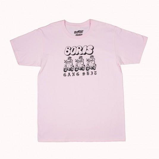 Футболка Boris Gang розовая