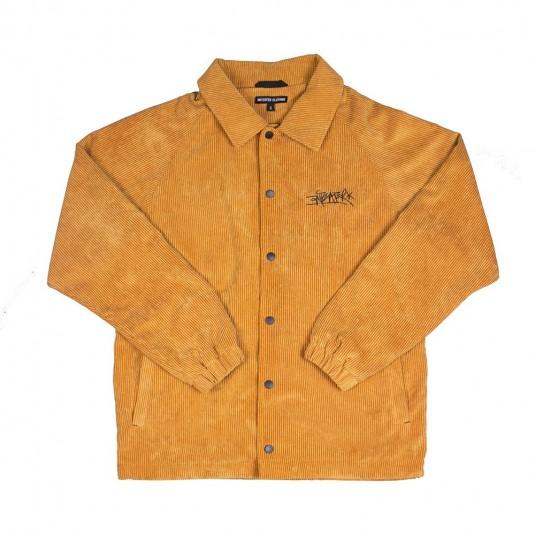 Куртка Anteater Coach Jacket вельветовая горчичная