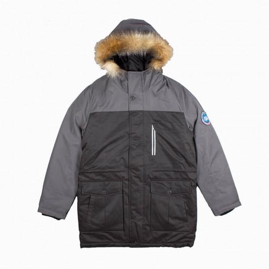 Куртка Anteater Tundra черная с серым
