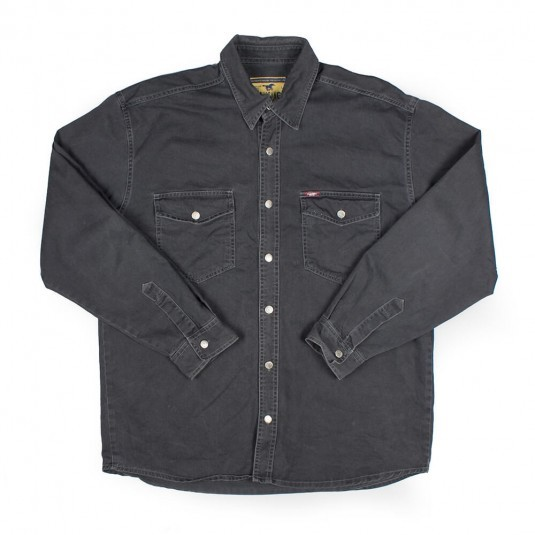Рубашка Mustang чёрная