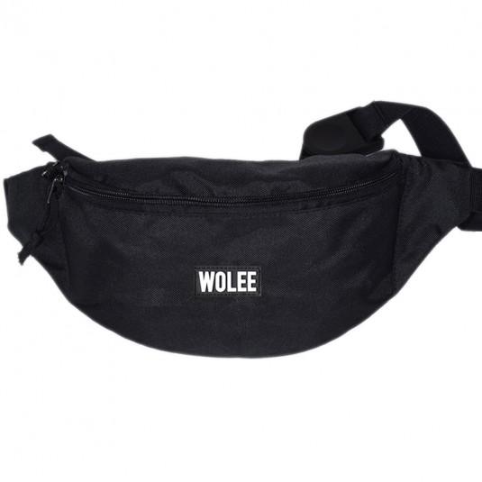 Поясная сумка WOLEE черная