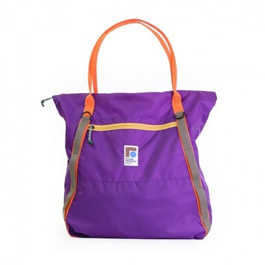 Шоппер Gosha Orekhov Tote Bag Nankin фиолетовый