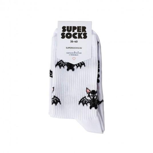 Носки Super Socks Летучие мыши