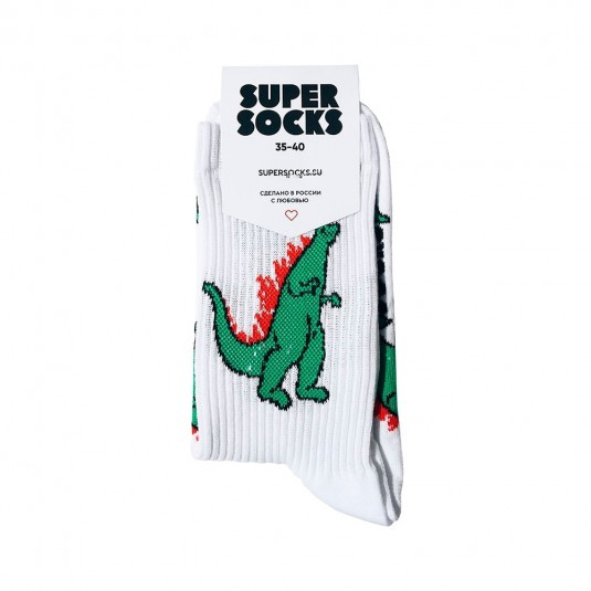 Носки Super Socks Годзилла