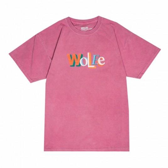 Футболка WOLEE Garment Dyed Logo