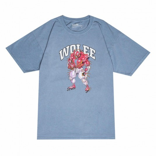 Футболка WOLEE Garment Dyed Quarterback