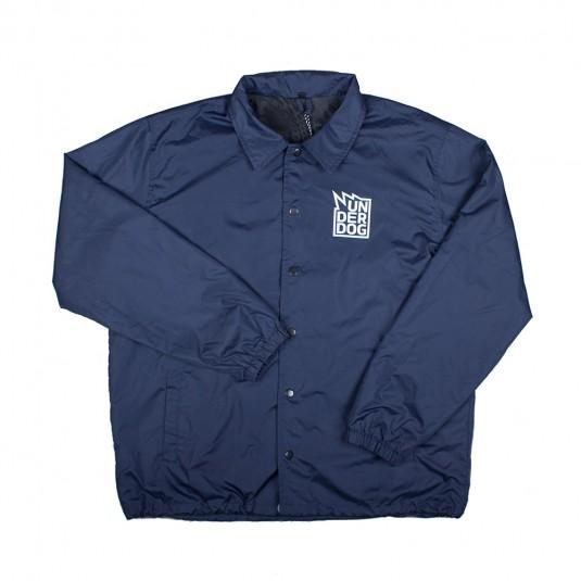Куртка коуч UNDERDOG синяя