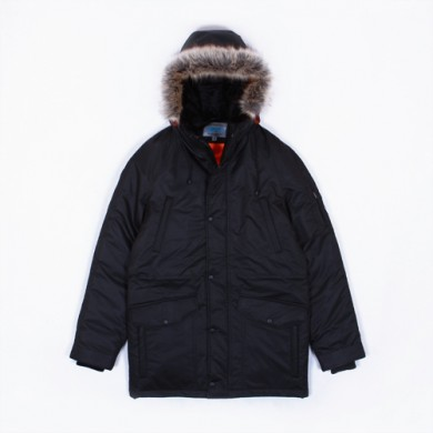 Зимняя куртка Anteater Alaska черная
