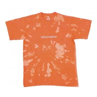 Футболка СЕВЕР «Reloaded» оранжевая тай-дай