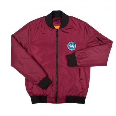 Куртка Anteater Bomber бордовая