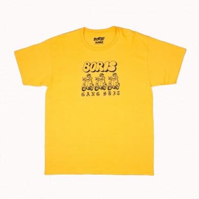 Футболка Boris Gang жёлтая