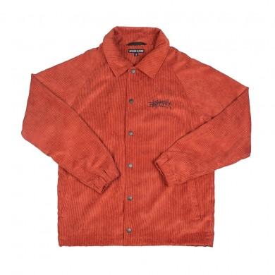 Куртка Anteater Coach Jacket вельветовая терракотовая