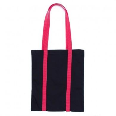 Сумка-шоппер Glam Slam чёрная с красным