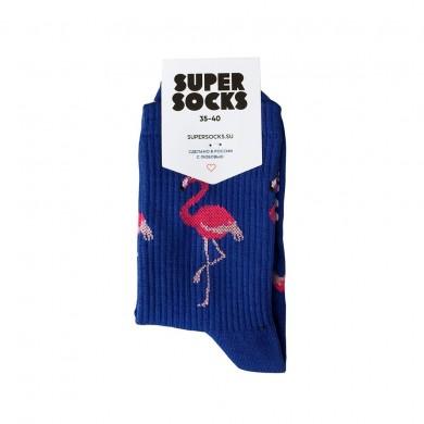 Носки Super Socks Фламинго